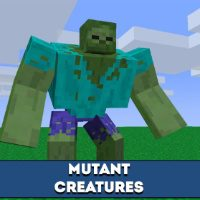 Mutant Creatures mod for Minecraft PE