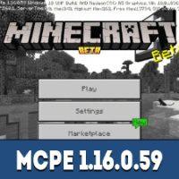 Minecraft PE 1.16.0.59