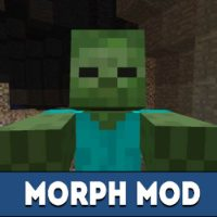 Morph Mod for Minecraft PE