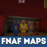 FNAF Map for Minecraft PE