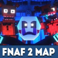 FNAF 2 Map for Minecraft PE