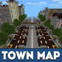 Town Map for Minecraft PE