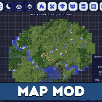 Map Mod for Minecraft PE