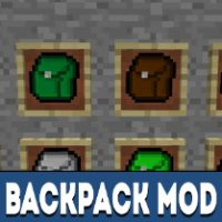 Backpack Mod for Minecraft PE