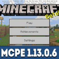 Minecraft PE 1.13.0.6