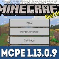 Minecraft PE 1.13.0.9