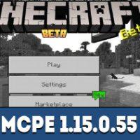 Minecraft PE 1.15.0.55