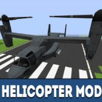 Helicopter Mod for Minecraft PE