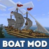 Boat Mod for Minecraft PE