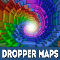 Dropper Maps for Minecraft PE