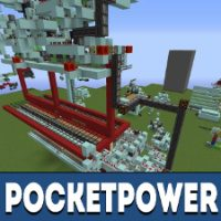 PocketPower Mod for Minecraft PE