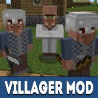 Villager Mod for Minecraft PE