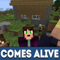Comes Alive Mod for Minecraft PE