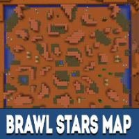 Brawl Stars Map for Minecraft PE