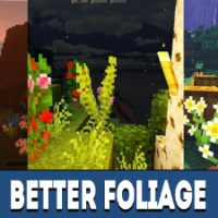 Better Foliage Mod for Minecraft PE