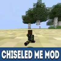 Chiseled Me Mod for Minecraft PE