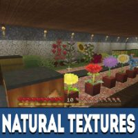 Natural Texture Pack for Minecraft PE