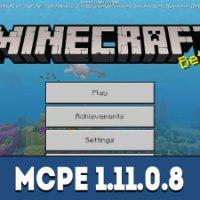Minecraft PE 1.11.0.8