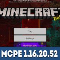 Minecraft PE 1.16.20.52