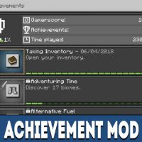 Achievement Mod for Minecraft PE