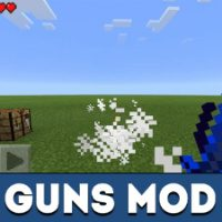 Guns Mod for Minecraft PE