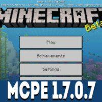 Minecraft PE 1.7.0.7