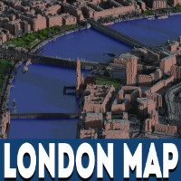 London Map for Minecraft PE