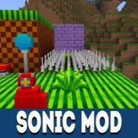 Sonic Mod for Minecraft PE