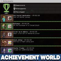 Achievement Map for Minecraft PE