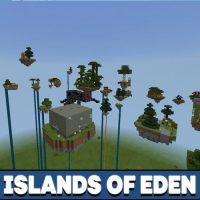 Islands of Eden Map for Minecraft PE