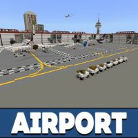 Airport Map for Minecraft PE